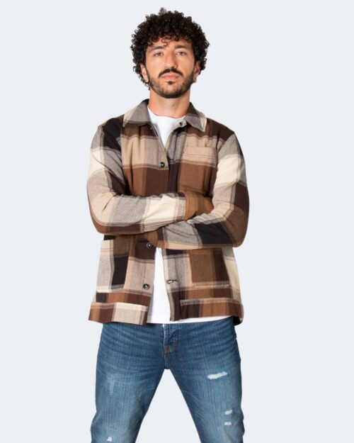 Camicia manica lunga Only & Sons MACE Beige scuro – 71884