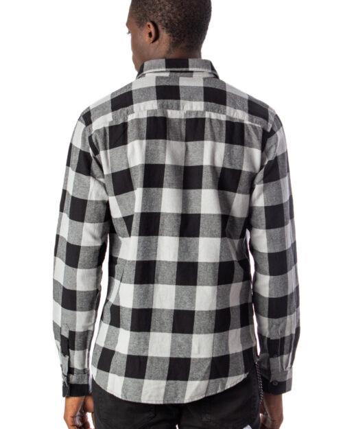 Camicia manica lunga Only & Sons GUDMUND LS CHECKED SHIRT NOOS Grigio - Foto 3