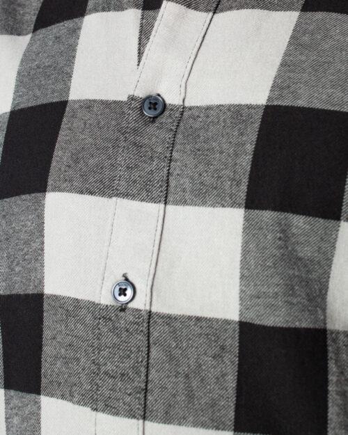 Camicia manica lunga Only & Sons GUDMUND LS CHECKED SHIRT NOOS Grigio - Foto 4