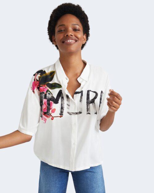 Camicia manica corta Desigual AMORE Bianco – 73411