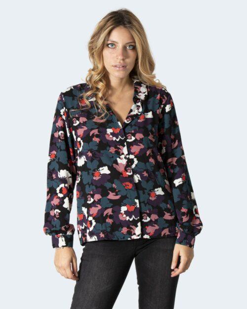 Camicia manica lunga Jacqueline De Yong JDY BROOKE L/S SHIRT WVN NOOS Nero – 79044