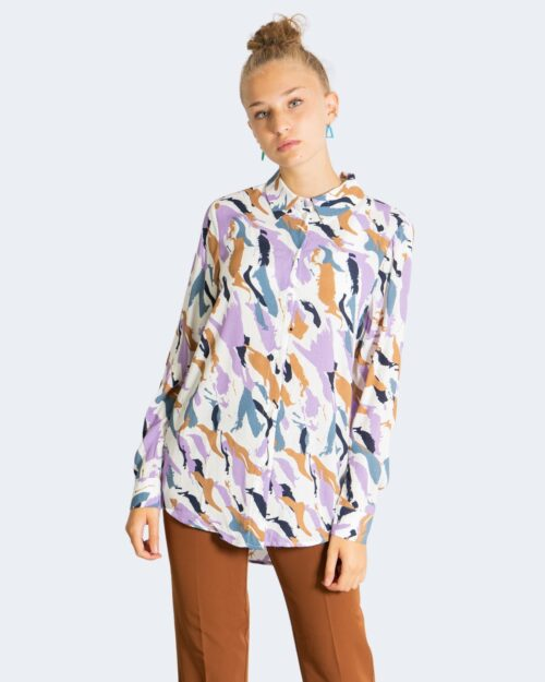 Camicia manica lunga Vila Clothes SANDRIA Bianco – 76849