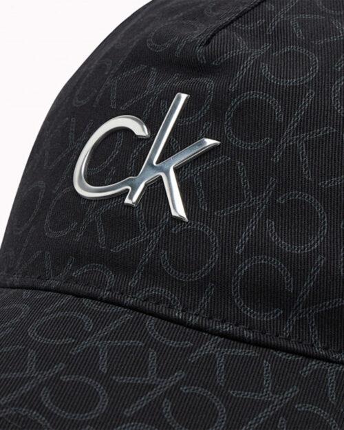 Cappello con visiera Calvin Klein MONO Nero – 77514
