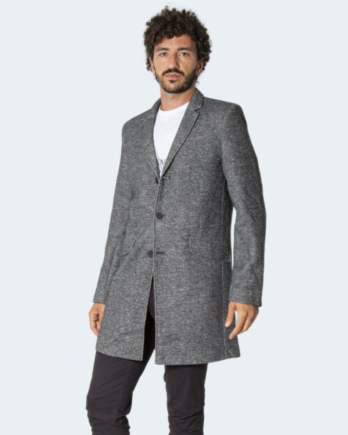 Cappotto Only & Sons ONSJULIAN KING COAT IN OTW VD – 22016665 Grigio Scuro – 71887