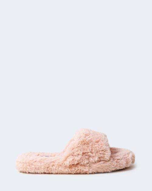 Ciabatte con fascia Ralph Lauren FUR SLIDE Rosa – 76966