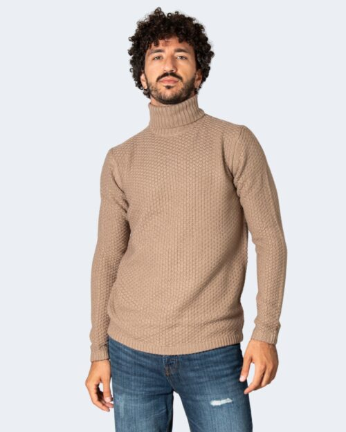 Dolcevita Only & Sons ONSLOCCER Beige – 71896