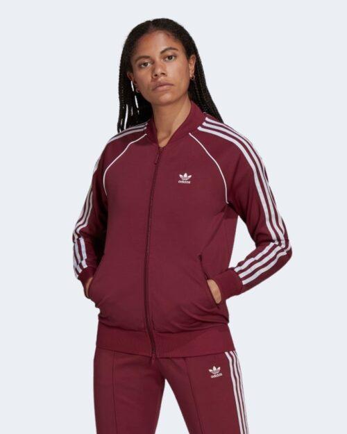 Felpa senza cappuccio Adidas Track jacket Bordeaux – 77838