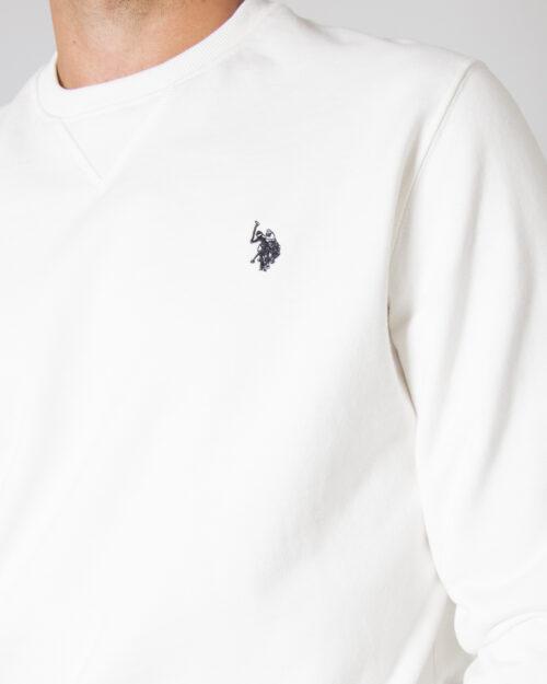Felpa senza cappuccio U.s. Polo Assn. MAX Bianco – 77486