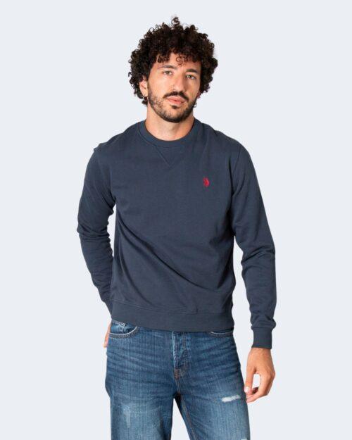 Felpa senza cappuccio U.s. Polo Assn. MAX Blu – 77486