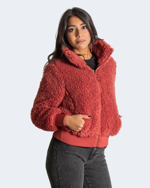 Giacchetto Only Ellie Sherpa Bomber CC OTW Bordeaux – 55072