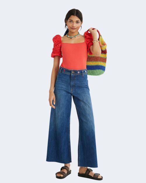 Jeans larghi Desigual CLAUDIA Denim – 73242
