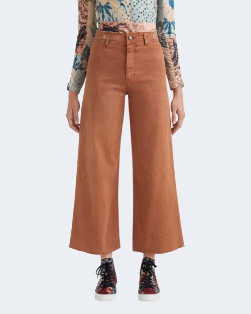 Jeans larghi Desigual NOAK Marrone – 73404