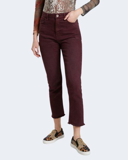 Jeans mom Desigual PANT TIBER 21WWPN02 Bordeaux – 73403