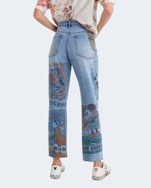 Jeans mom Desigual DENIM INDIA/Denim vintage mickey Denim – 73382