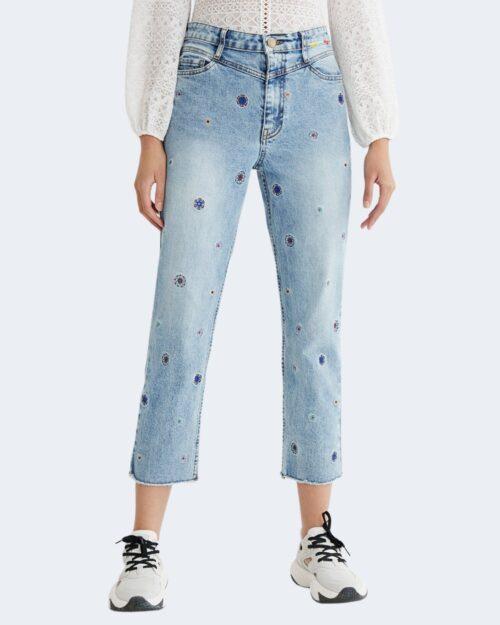 Jeans mom Desigual JULIETA Denim chiaro – 73133