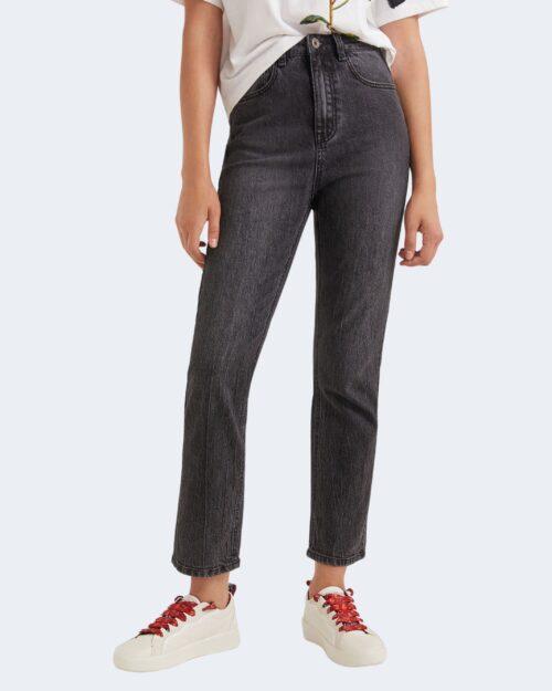 Jeans mom Desigual SCARF Nero – 73239