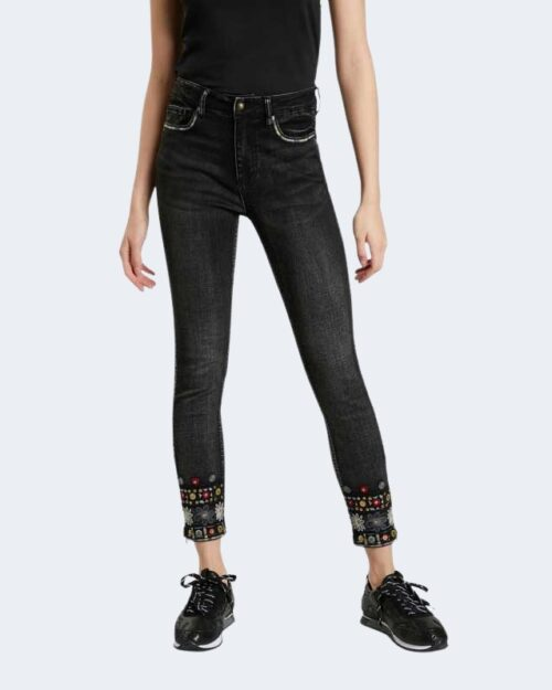 Jeans skinny Desigual Denim leslie Nero – 76948