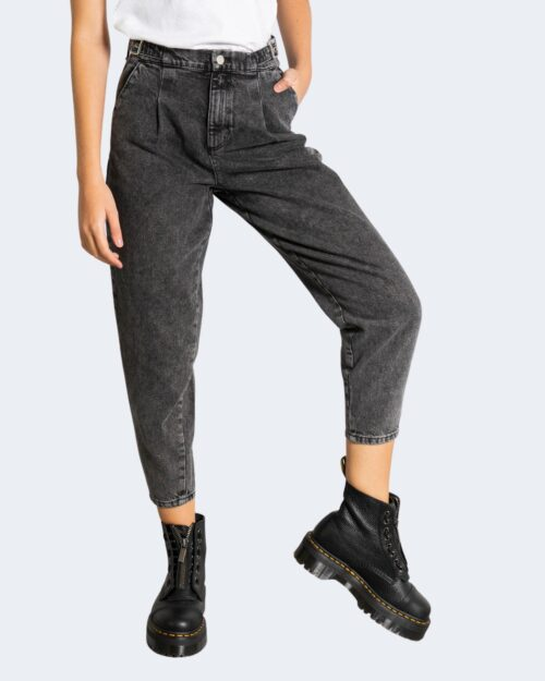 Jeans Only ONLLIVA STRAP LIFE HW SLOUCHY AK DNM DOT – 15240559 Grigio Scuro – 71845