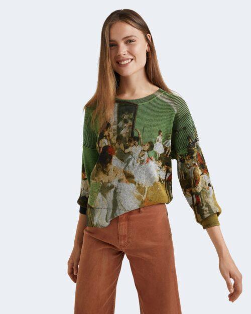 Maglia Desigual DEGAS Verde – 73401