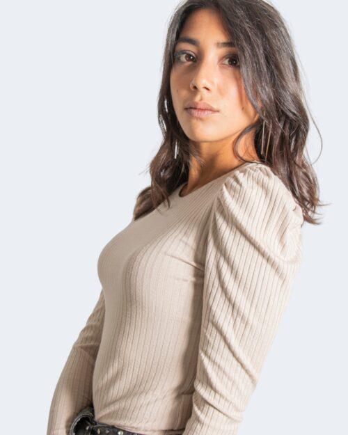 Maglia Jacqueline De Yong FRANSISKA Beige – 77463