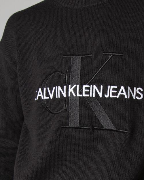 Maglione Calvin Klein EMBROIDERY Nero – 71959