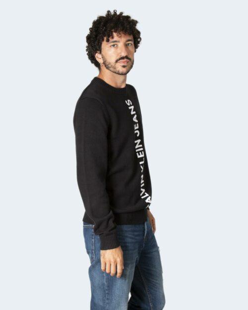 Maglione Calvin Klein VERTICAL INSTITUTION Nero – 71968