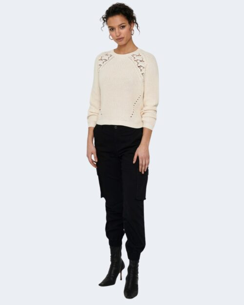 Maglione Only MAGA Panna – 74180