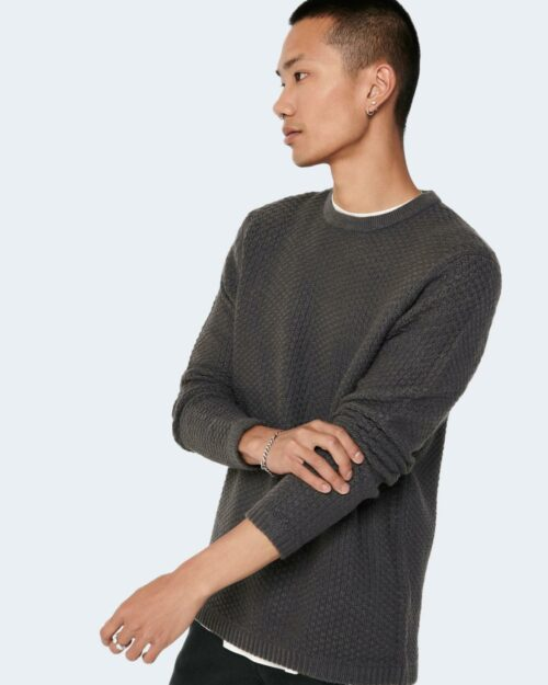 Maglione Only & Sons ONSLOCCER Verde – 71886