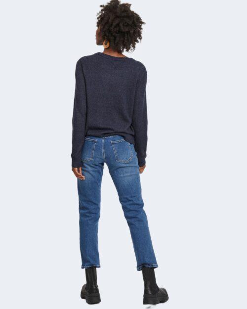 Maglia Vila Clothes VIRIL O-NECK Blue scuro – 78670