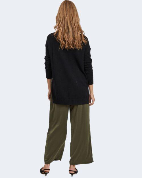 Maglia Vila Clothes VIRIL HIGH LOW Nero – 78668