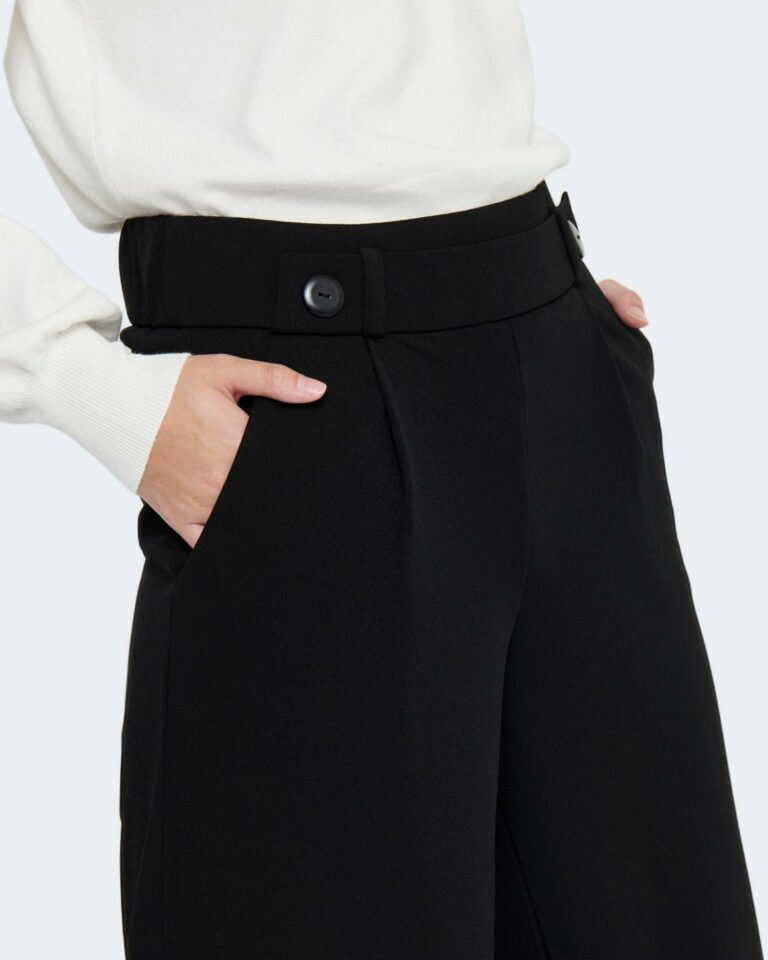 Pantaloni a palazzo Jacqueline de Yong DYGEGGO NEW LONG Nero - Foto 2