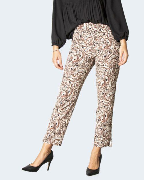 Pantaloni da completo Akè CHIOCCIOLA Crema – 78046