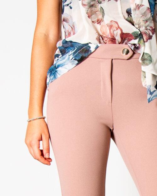 Pantaloni da completo Rinascimento REWI DRITTO Rosa – 78036