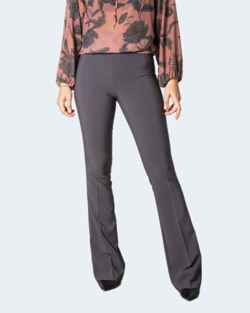 Pantaloni bootcut Sandro Ferrone BASIC Grigio – 77753