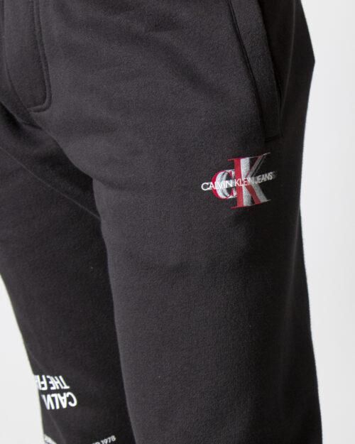 Pantaloni slim Calvin Klein MULTI URBAN LOGO HWK J30J318517 Nero – 71955