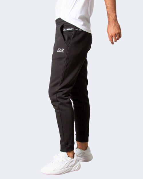 Pantaloni sportivi Ea7 JERSEY TROUSER Nero – 77468