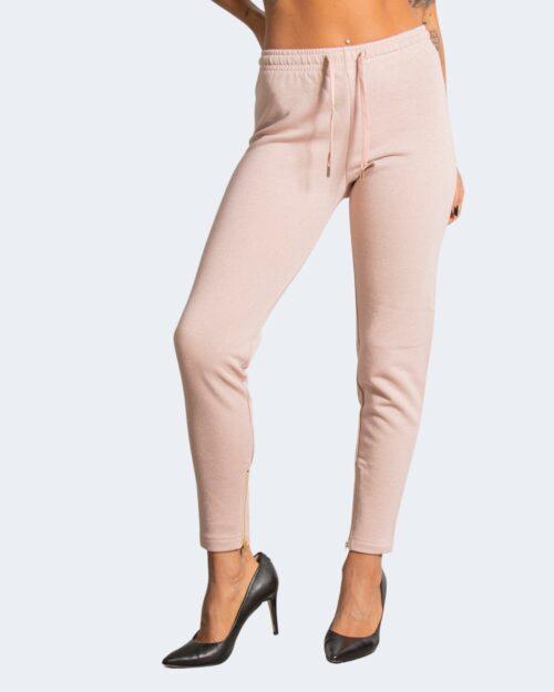 Pantaloni sportivi Love Moschino APPLY ON BAG Rosa Cipria – 77526