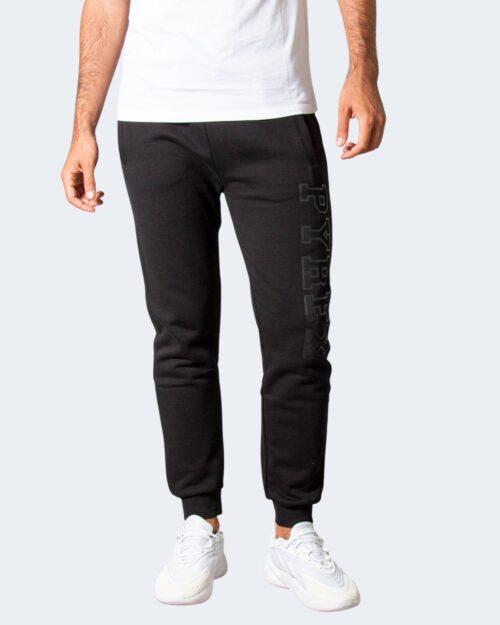 Pantaloni sportivi Pyrex LOGO LATERALE Nero – 77474