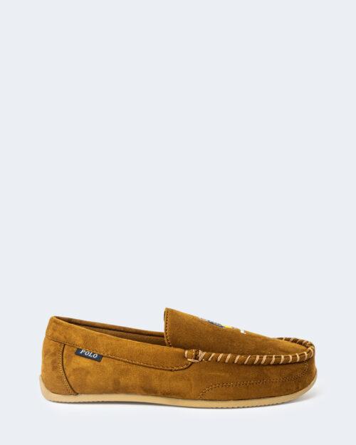 Pantofole Ralph Lauren DECLAN BEAR Beige scuro – 76964