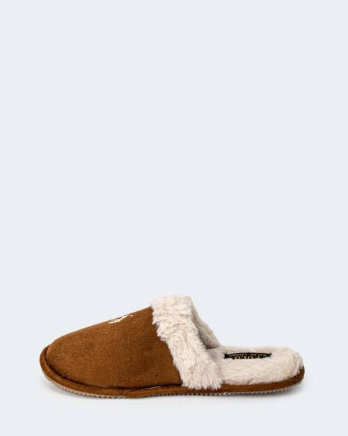 Pantofole Ralph Lauren SNUFF SUMMIT SCUFF Beige scuro – 77791