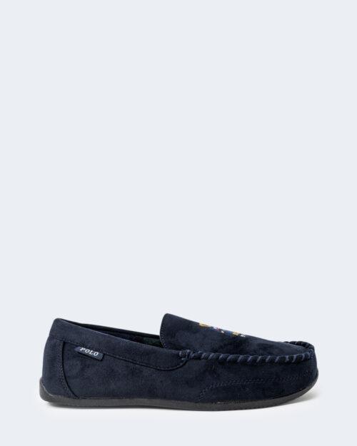 Pantofole Ralph Lauren DECLAN BEAR Blu – 76959