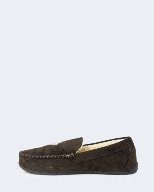 Pantofole Ralph Lauren DECLAN Marrone – 76960