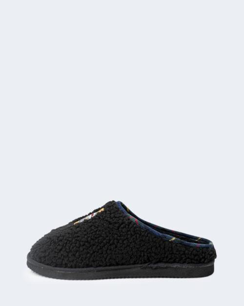 Pantofole Ralph Lauren CHARLOTTE SCUFF BEAR Nero – 76963
