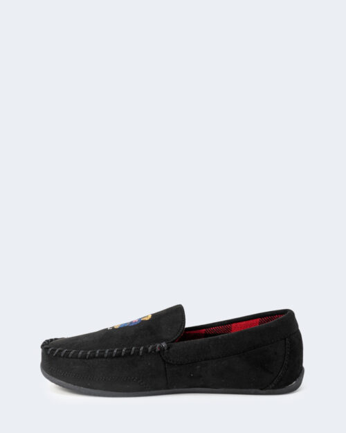 Pantofole Ralph Lauren DECLAN BEAR Nero – 76961