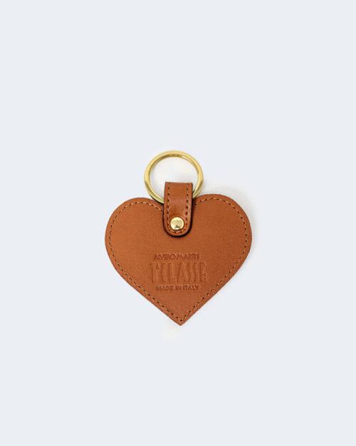 Portachiave Alviero Martini Prima Classe KEY HOLDER HEART Beige – 76904