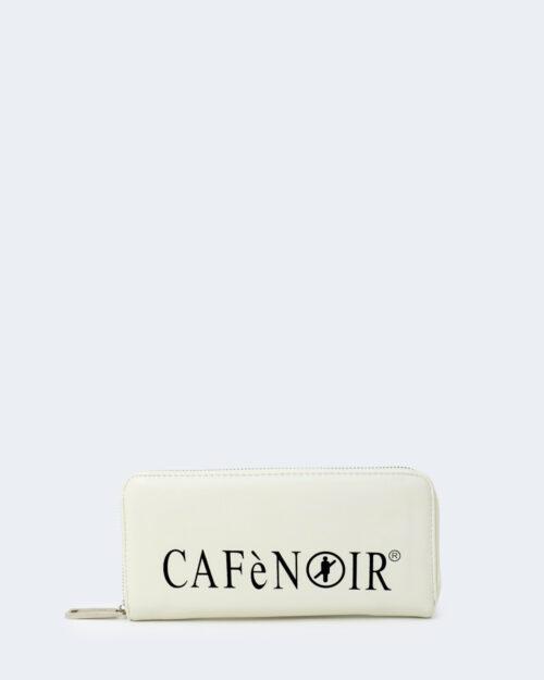 Portafoglio grande Cafè Noir STAMPA LOGO CAFèNOIR Bianco – 74420