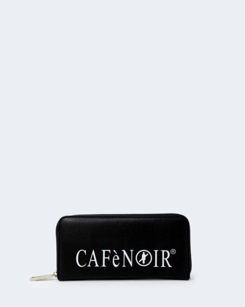 Portafoglio grande Cafè Noir STAMPA LOGO CAFèNOIR Nero – 74420