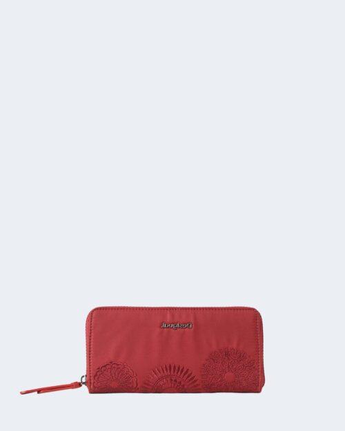 Portafoglio grande Desigual MANDARALA Rosso – 73189