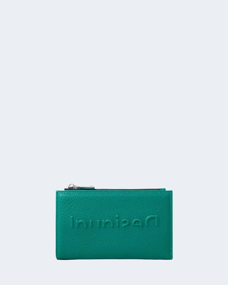 Portafoglio grande Desigual EMBOSSED Verde - Foto 1