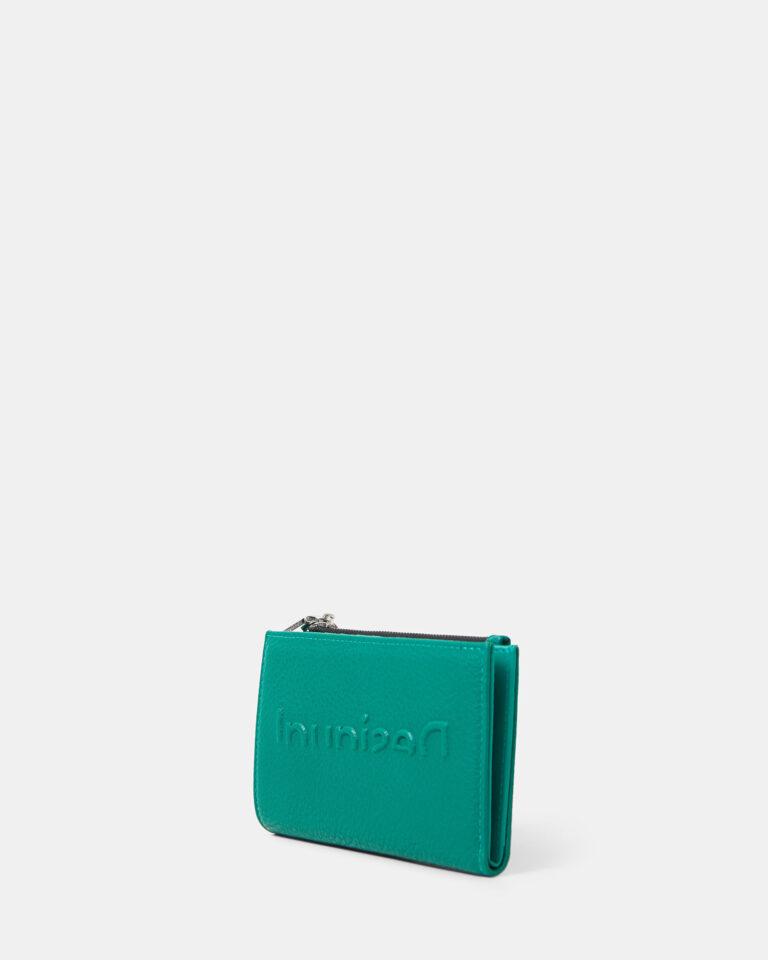 Portafoglio grande Desigual EMBOSSED Verde - Foto 3
